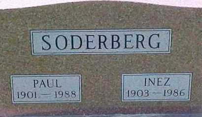 SODERBERG, PAUL - Dixon County, Nebraska | PAUL SODERBERG - Nebraska Gravestone Photos