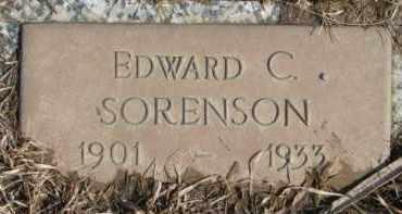 SORENSON, EDWARD C. - Dixon County, Nebraska   EDWARD C. SORENSON - Nebraska Gravestone Photos