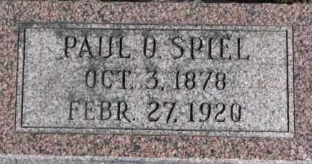 SPIEL, PAUL O. - Dixon County, Nebraska | PAUL O. SPIEL - Nebraska Gravestone Photos