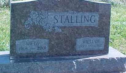 STALLING, WILLIAM - Dixon County, Nebraska   WILLIAM STALLING - Nebraska Gravestone Photos