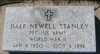 STANLEY, DALE NEWELL - Dixon County, Nebraska | DALE NEWELL STANLEY - Nebraska Gravestone Photos