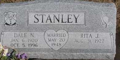 STANLEY, DALE N. - Dixon County, Nebraska | DALE N. STANLEY - Nebraska Gravestone Photos