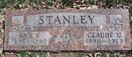 STANLEY, EVA I. - Dixon County, Nebraska | EVA I. STANLEY - Nebraska Gravestone Photos
