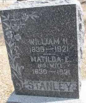 STANLEY, WILLIAM H. - Dixon County, Nebraska | WILLIAM H. STANLEY - Nebraska Gravestone Photos