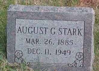 STARK, AUGUST G. - Dixon County, Nebraska | AUGUST G. STARK - Nebraska Gravestone Photos