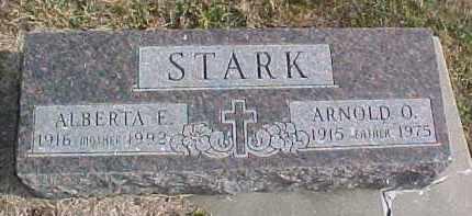 STARK, ALBERTA E. - Dixon County, Nebraska   ALBERTA E. STARK - Nebraska Gravestone Photos