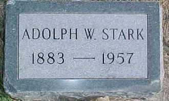 STARK, ADOLPH W. - Dixon County, Nebraska | ADOLPH W. STARK - Nebraska Gravestone Photos