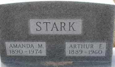 STARK, ARTHUR E. - Dixon County, Nebraska | ARTHUR E. STARK - Nebraska Gravestone Photos