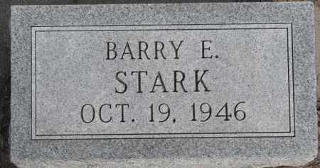 STARK, BARRY E. - Dixon County, Nebraska | BARRY E. STARK - Nebraska Gravestone Photos
