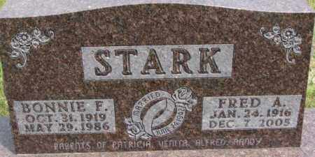 STARK, BONNIE F. - Dixon County, Nebraska | BONNIE F. STARK - Nebraska Gravestone Photos