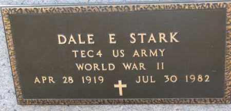 STARK, DALE E. (WW II MARKER) - Dixon County, Nebraska | DALE E. (WW II MARKER) STARK - Nebraska Gravestone Photos