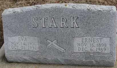 STARK, EVA - Dixon County, Nebraska | EVA STARK - Nebraska Gravestone Photos