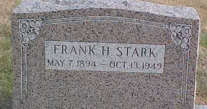 STARK, FRANK H. - Dixon County, Nebraska | FRANK H. STARK - Nebraska Gravestone Photos