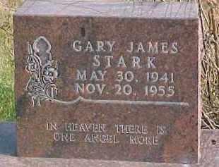 STARK, GARY JAMES - Dixon County, Nebraska | GARY JAMES STARK - Nebraska Gravestone Photos