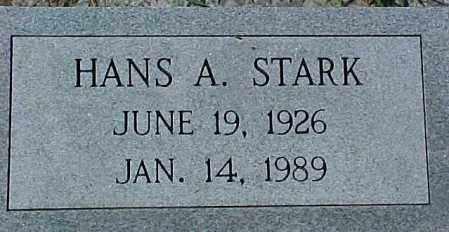 STARK, HANS A. - Dixon County, Nebraska | HANS A. STARK - Nebraska Gravestone Photos