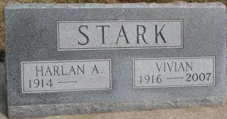 STARK, HARLAN A. - Dixon County, Nebraska | HARLAN A. STARK - Nebraska Gravestone Photos
