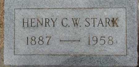 STARK, HENRY C.W. - Dixon County, Nebraska | HENRY C.W. STARK - Nebraska Gravestone Photos