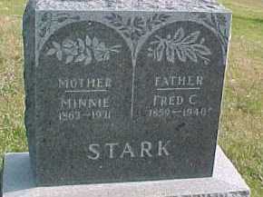 STARK, FRED C. - Dixon County, Nebraska | FRED C. STARK - Nebraska Gravestone Photos