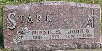 STARK, JOHN B. - Dixon County, Nebraska | JOHN B. STARK - Nebraska Gravestone Photos