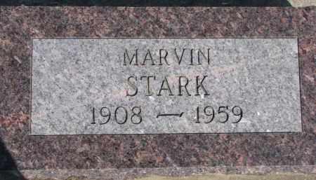 STARK, MARVIN - Dixon County, Nebraska | MARVIN STARK - Nebraska Gravestone Photos