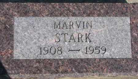 STARK, MARVIN - Dixon County, Nebraska | MARVIN STARK - Nebraska Gravestone Photos
