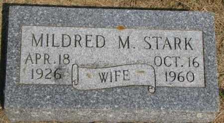STARK, MILDRED M. - Dixon County, Nebraska | MILDRED M. STARK - Nebraska Gravestone Photos