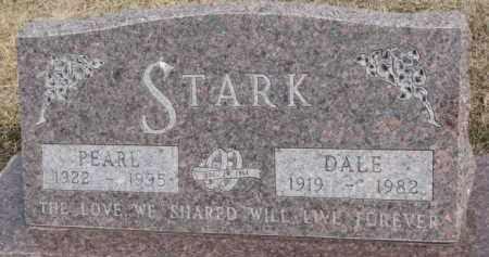 STARK, DALE - Dixon County, Nebraska | DALE STARK - Nebraska Gravestone Photos