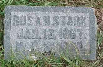 STARK, ROSA M. - Dixon County, Nebraska   ROSA M. STARK - Nebraska Gravestone Photos