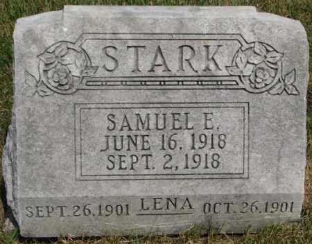 STARK, LENA - Dixon County, Nebraska   LENA STARK - Nebraska Gravestone Photos