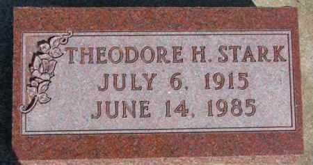 STARK, THEODORE H. - Dixon County, Nebraska | THEODORE H. STARK - Nebraska Gravestone Photos