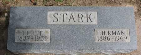 STARK, HERMAN - Dixon County, Nebraska | HERMAN STARK - Nebraska Gravestone Photos