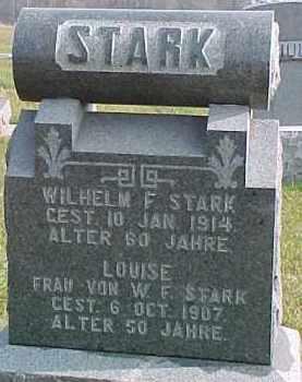 STARK, WILHELM F. - Dixon County, Nebraska | WILHELM F. STARK - Nebraska Gravestone Photos