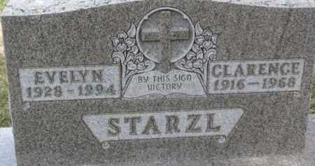 STARZL, CLARENCE - Dixon County, Nebraska | CLARENCE STARZL - Nebraska Gravestone Photos
