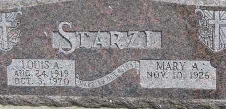 STARZL, LOUIS A. - Dixon County, Nebraska   LOUIS A. STARZL - Nebraska Gravestone Photos