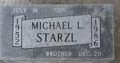 STARZL, MICHAEL L. - Dixon County, Nebraska | MICHAEL L. STARZL - Nebraska Gravestone Photos