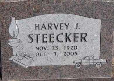 STEECKER, HARVEY J. - Dixon County, Nebraska | HARVEY J. STEECKER - Nebraska Gravestone Photos