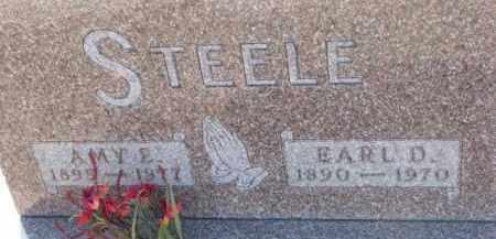 STEELE, AMY E. - Dixon County, Nebraska | AMY E. STEELE - Nebraska Gravestone Photos