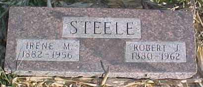 STEELE, ROBERT J. - Dixon County, Nebraska   ROBERT J. STEELE - Nebraska Gravestone Photos