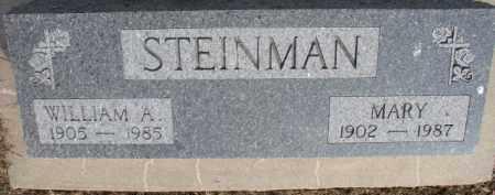 STEINMAN, MARY - Dixon County, Nebraska   MARY STEINMAN - Nebraska Gravestone Photos