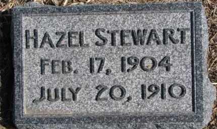 STEWART, HAZEL - Dixon County, Nebraska | HAZEL STEWART - Nebraska Gravestone Photos