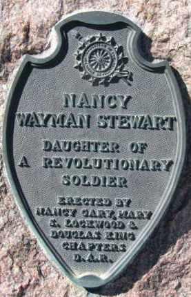 STEWART, NANCY   (DAR) - Dixon County, Nebraska | NANCY   (DAR) STEWART - Nebraska Gravestone Photos
