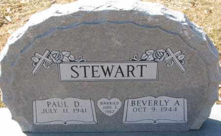 STEWART, PAUL D. - Dixon County, Nebraska | PAUL D. STEWART - Nebraska Gravestone Photos