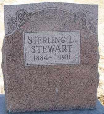 STEWART, STERLING L. - Dixon County, Nebraska | STERLING L. STEWART - Nebraska Gravestone Photos
