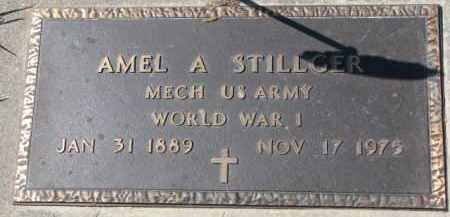 STILLGER, AMEL A. (WW I MARKER) - Dixon County, Nebraska | AMEL A. (WW I MARKER) STILLGER - Nebraska Gravestone Photos