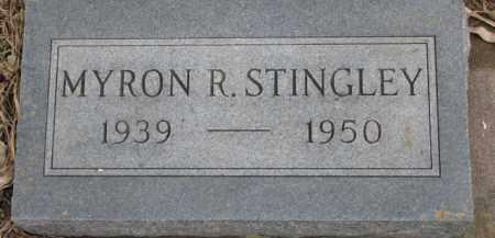 STINGLEY, MYRON R. - Dixon County, Nebraska | MYRON R. STINGLEY - Nebraska Gravestone Photos
