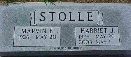 STOLLE, MARVIN E. - Dixon County, Nebraska | MARVIN E. STOLLE - Nebraska Gravestone Photos