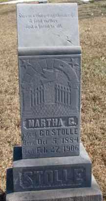 STOLLE, MARTHA G. - Dixon County, Nebraska | MARTHA G. STOLLE - Nebraska Gravestone Photos