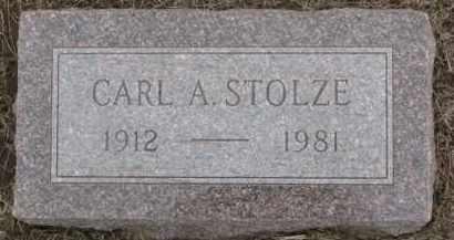 STOLZE, CARL A. - Dixon County, Nebraska | CARL A. STOLZE - Nebraska Gravestone Photos