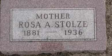 STOLZE, ROSA A. - Dixon County, Nebraska | ROSA A. STOLZE - Nebraska Gravestone Photos