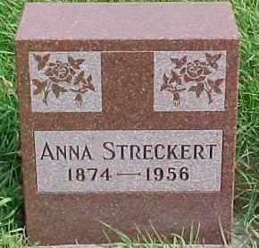 STRECKERT, ANNA - Dixon County, Nebraska | ANNA STRECKERT - Nebraska Gravestone Photos